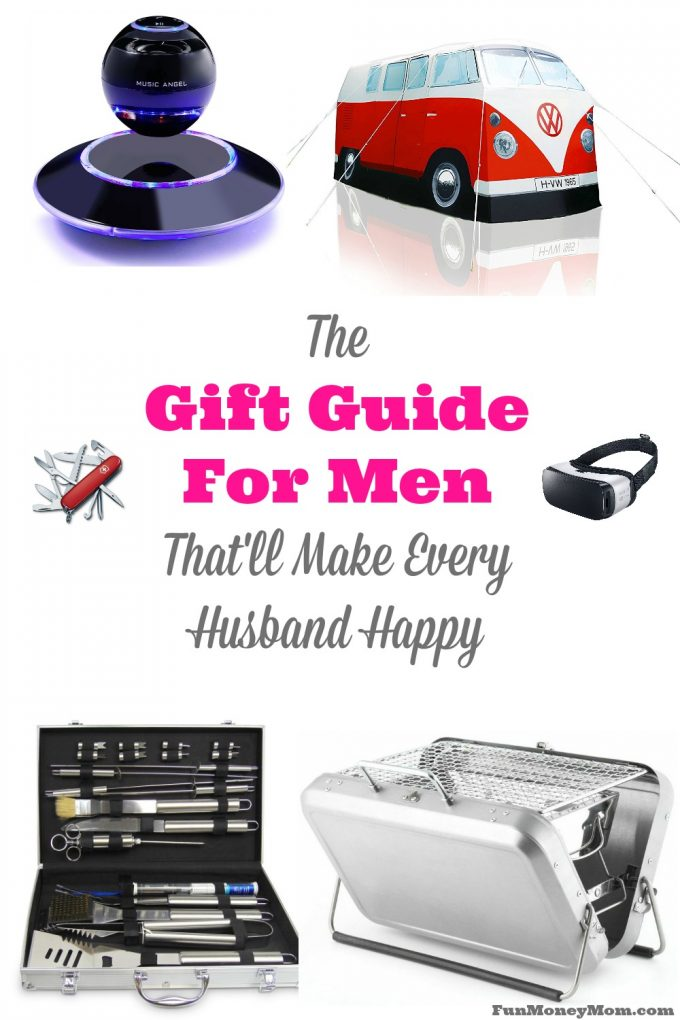 Trying to find the perfect Christmas gift for your hubby? This gift guide for men has something for every type of guy!