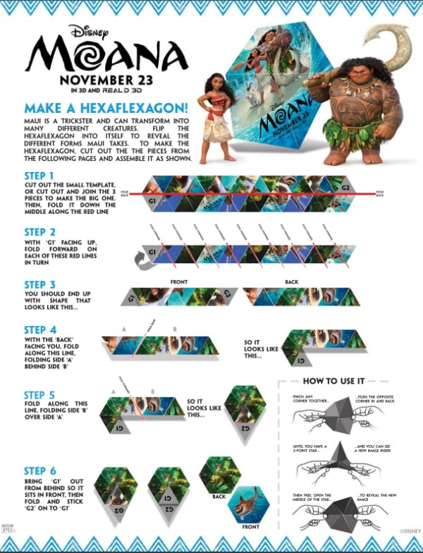 moana-movie-review-printables-hexaflexagon