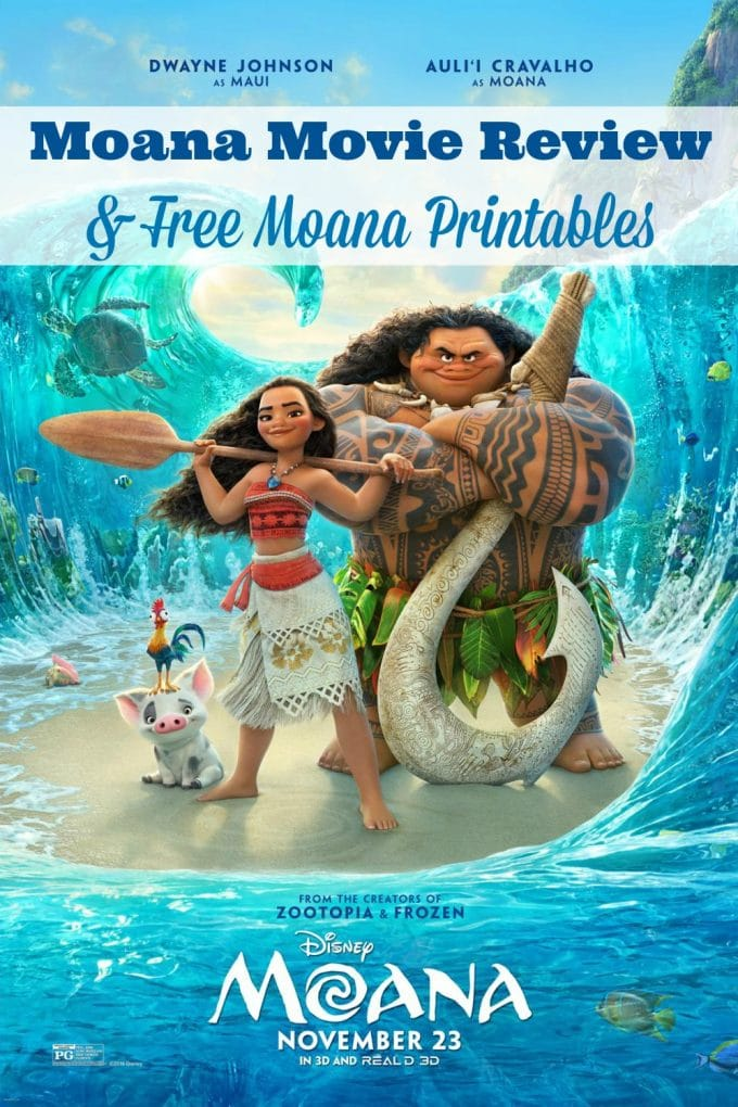 Have you been as excited to see this movie as we have? Check out my Moana movie review to find out what we thought and get free printables for the kids, too.