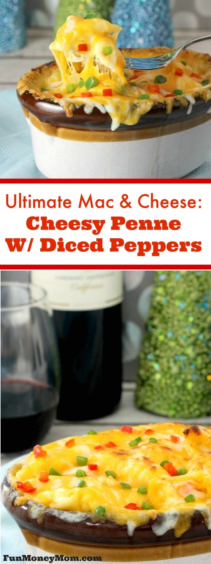 My family went nuts for this ultimate mac & cheese dish. Cheesy penne with peppers are the perfect side dish for any holiday dinner!