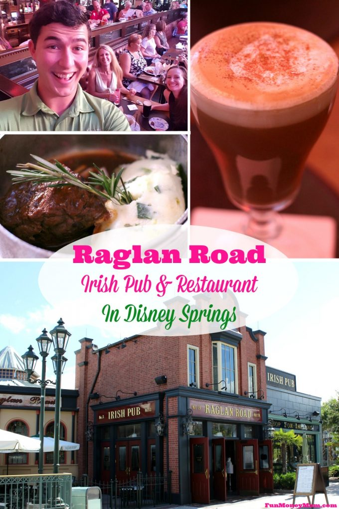Find out why Raglan Road is one of my favorite restaurants in Disney Springs, with or without the kids!
