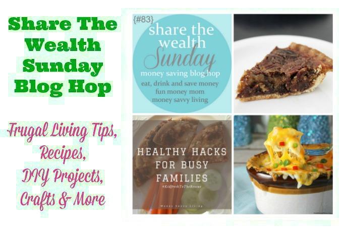 Share The Wealth Sunday Blog Hop #83