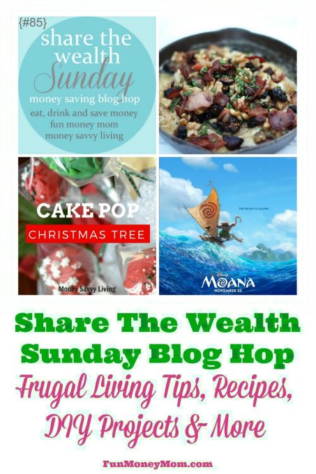 Join our Share The Wealth Blog Hop for the week of 11/26/16