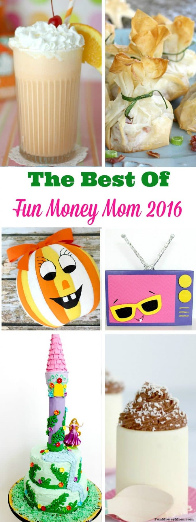 Desserts, holidays & DIY...check out the Best Of Fun Money Mom 2016 to find out what everyone was reading last year!