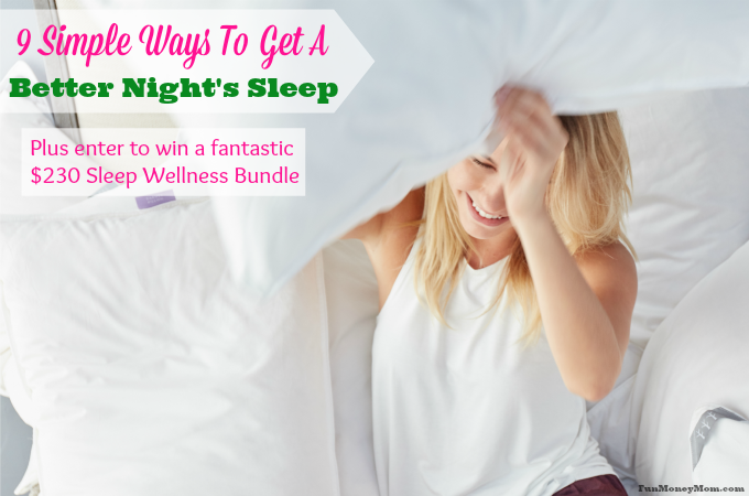 9 Simple Ways To Get A Better Night's Sleep