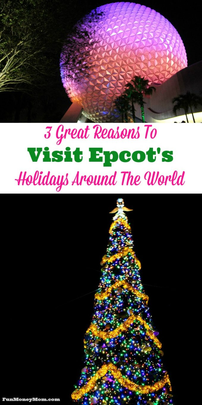 My family and I had a great time when we went to visit Epcot during the holidays. If you haven't been to Epcot's Holidays Around The World, here's what you're missing.