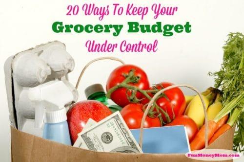 http://funmoneymom.com/money-saving-hints/20-ways-to-keep-your-grocery-budget-under-control/