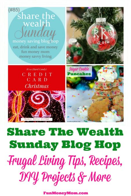 Share your best posts with us at the Share The Wealth Sunday Blog Hop! (week of December 3rd)