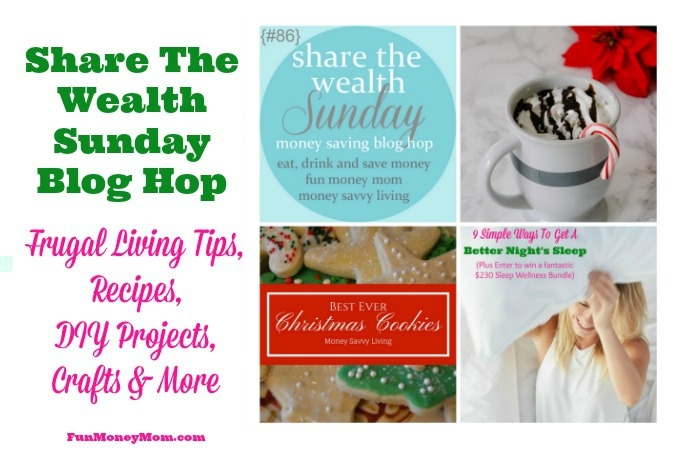 Share The Wealth Sunday Blog Hop #86