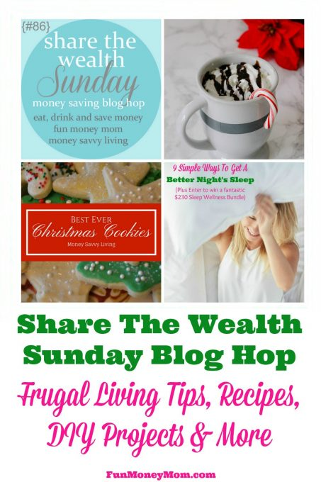Join the Share The Wealth Blog Hop & link up your favorite posts! (Week of 12/10/16)