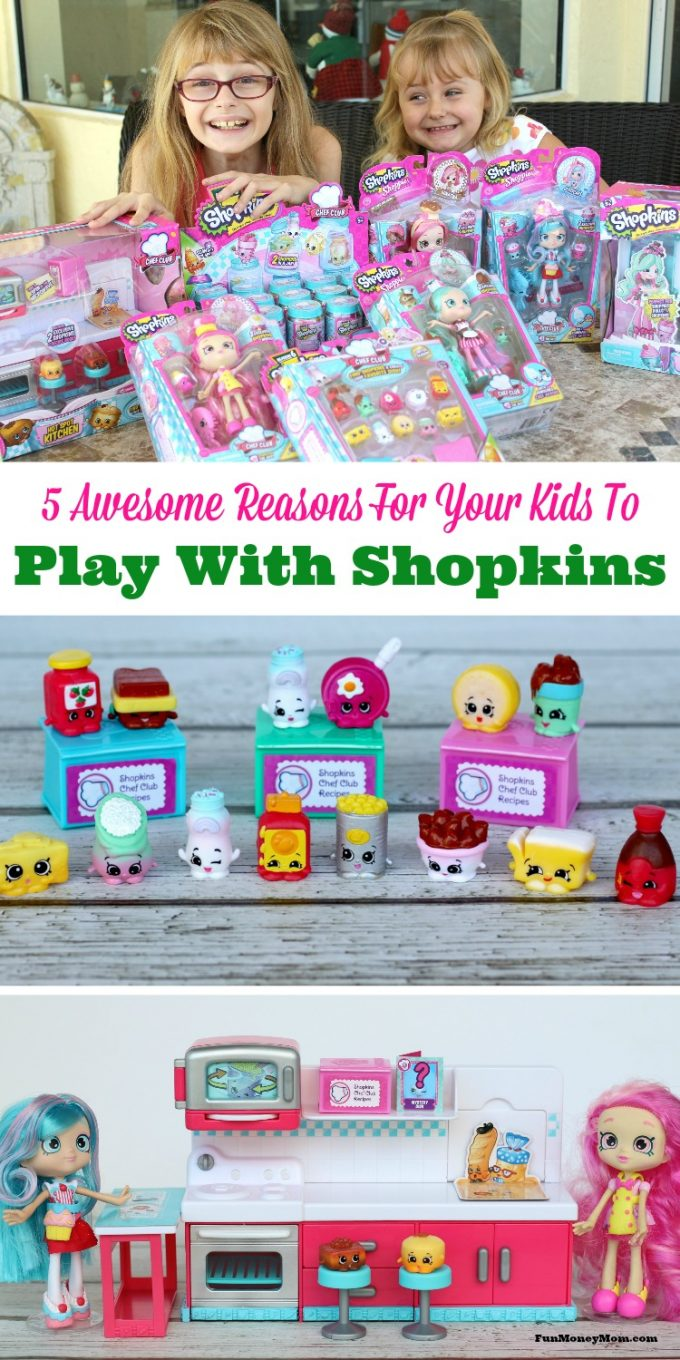 Are your kids as obsessed with Shopkins as mine are? Mine can't get enough of them and I think it's awesome. Find out why! #MooseHolidays16 #ad