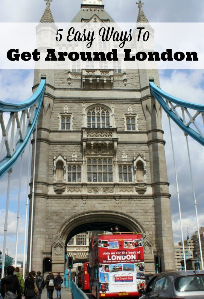 Want to know the best ways to get around London? From buses, trains and automobiles, it's all here!