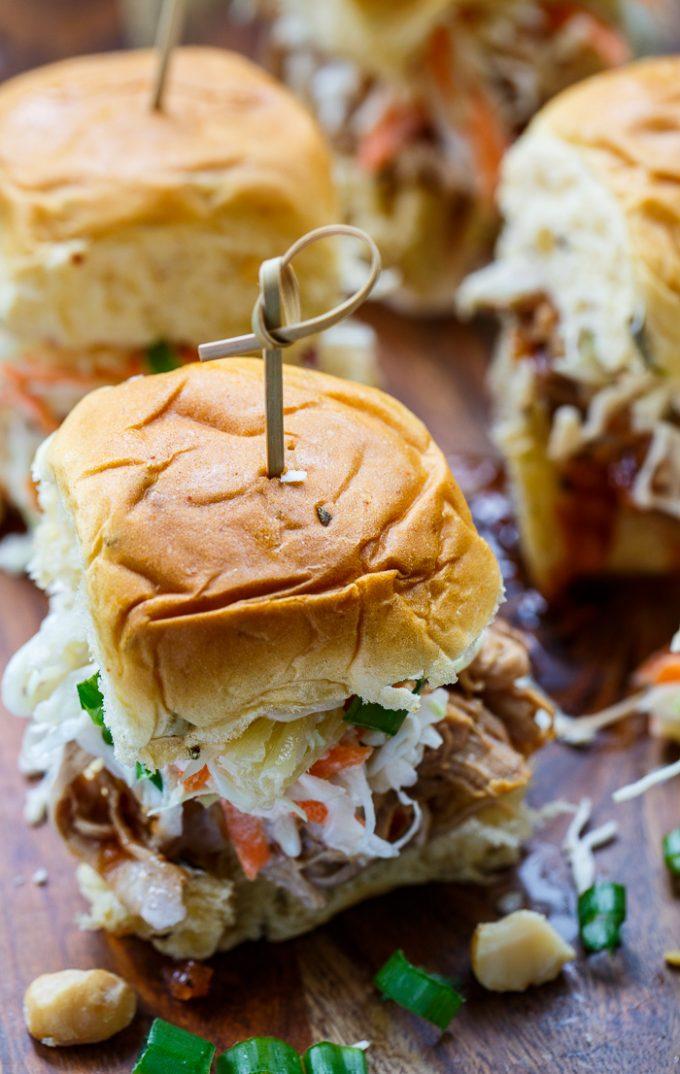 Hawaiian Slider Super Bowl Snacks