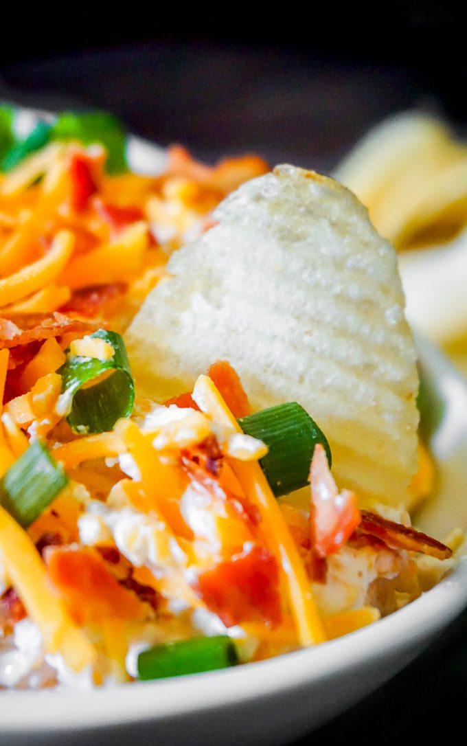 Potato Dip Super Bowl Snacks