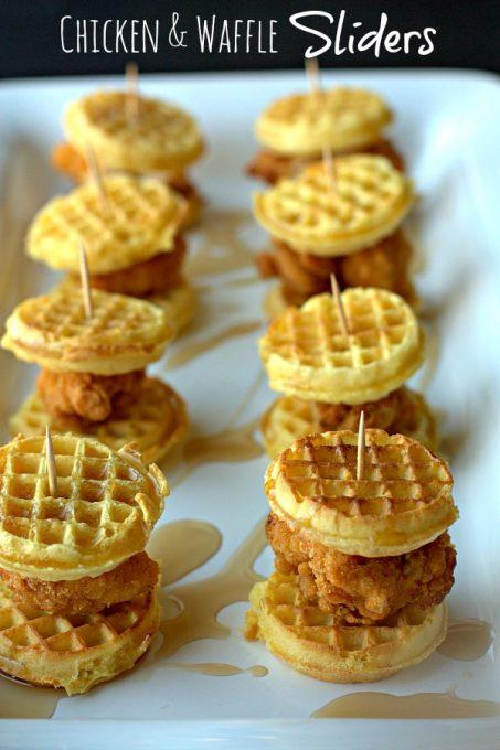 Chicken & Waffle Super Bowl Snack
