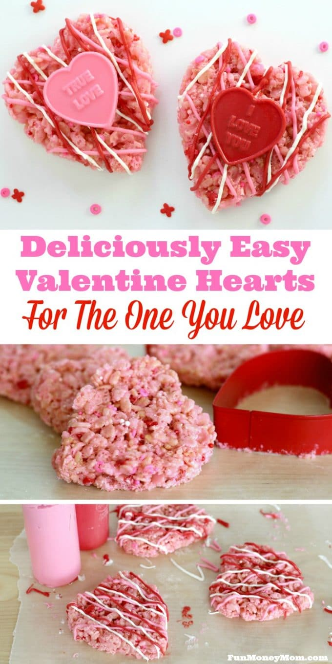 You can't have Valentine's Day without sweets, right? These deliciously easy Valentine hearts make the perfect holiday treat for friends, teachers or anyone else who deserves a little love!