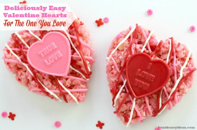 You can make these deliciously easy Valentine Hearts for teacher, friends or the one you love!