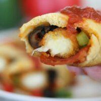 Crescent Pizza Wraps