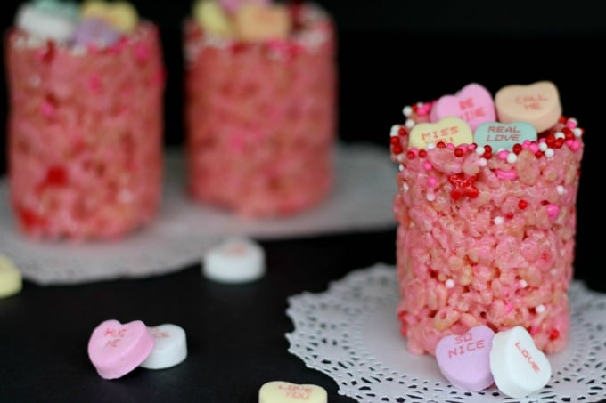 Voila! Our delicious Valentine's Day treats are ready.