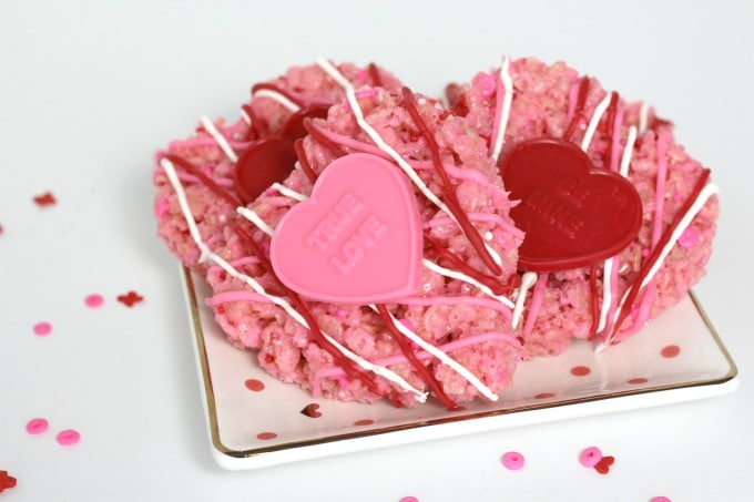 These delicious Valentine hearts are perfect for a party