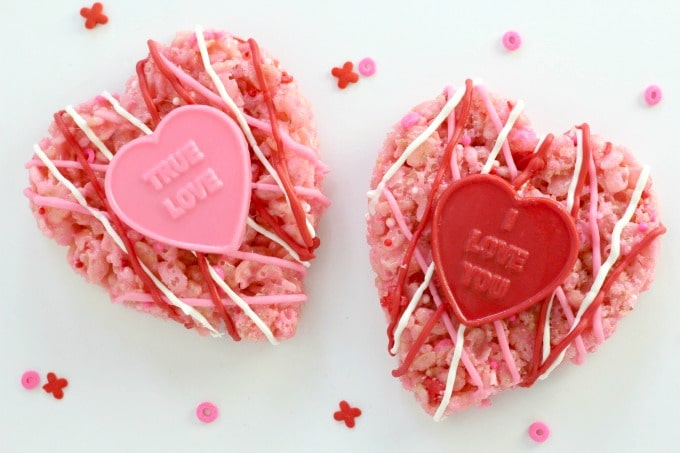 These Valentine hearts are almost too pretty to eat