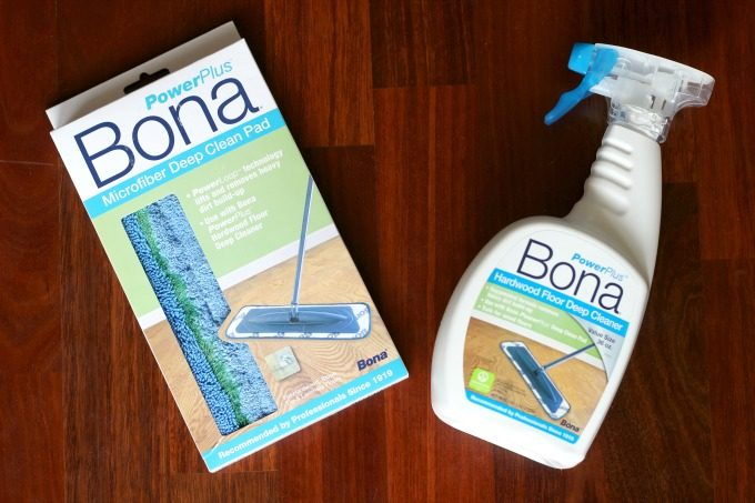 I love the way Bona Power Plus products help me clean hardwood floors