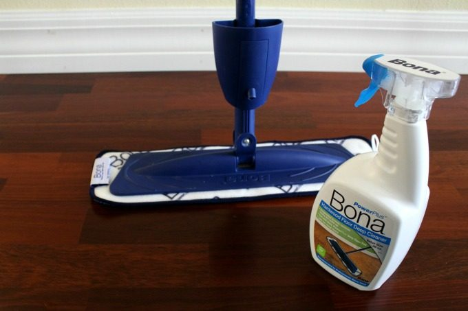 Bona Power Plus products are all I need for clean hardwood floors