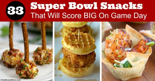 Best Super Bowl Snacks for FB