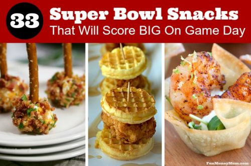 Super Bowl Snacks for a successful football party