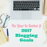 The Year in Review and 2017 Blogging Goals