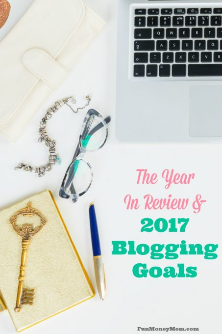 We rang in the new year and it's time to do some goal setting. I'm taking a look back at 2016 and setting some goals that will make 2017 the best year yet!