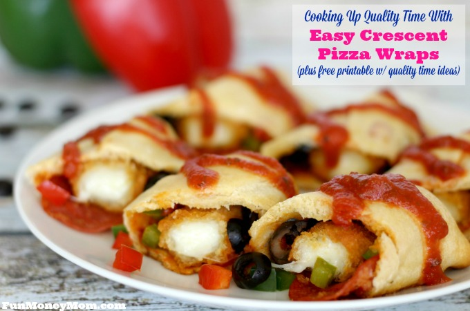 Cooking Up Quality Time With Easy Crescent Pizza Wraps