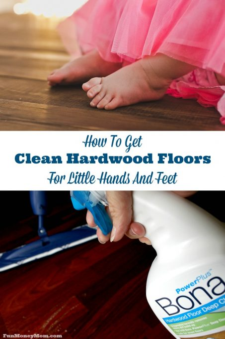 When you have little ones running around the house, you know just how important it is that those hardwoods are spotless! Find out why I've been a fan of this hardwood cleaner for years! #ad #BonaPowerPlus