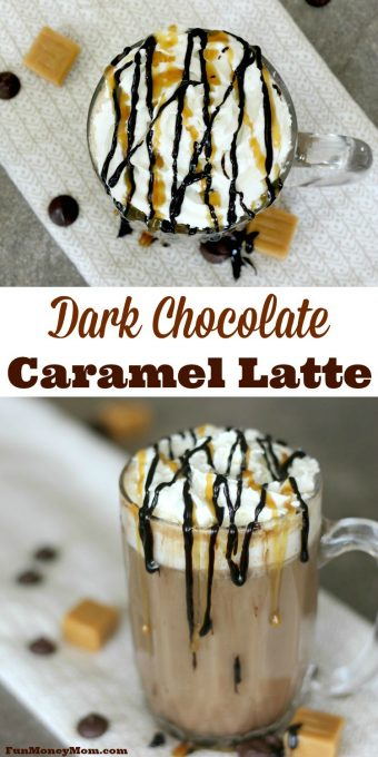 Do you have a hard time getting out of bed in the morning? This'll Dark Chocolate Caramel Latte will make it a lot easier!#CoffeehouseBlend #ad