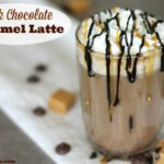 Dark Chocolate Caramel Latte
