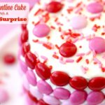 The Valentine Cake With A Sweet Surprise