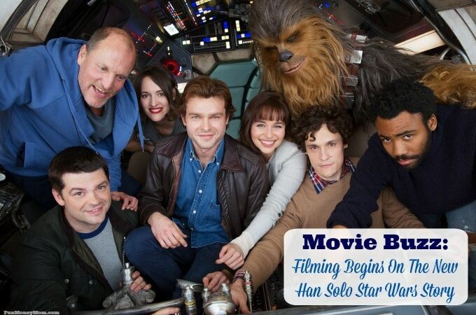 Movie Buzz: Filming Begins On The New Han Solo Star Wars Story