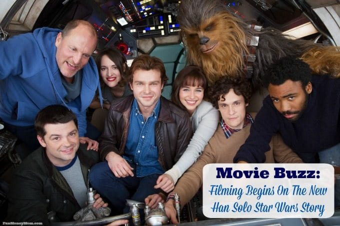 Filming has begun on the new Han Solo Star Wars Story