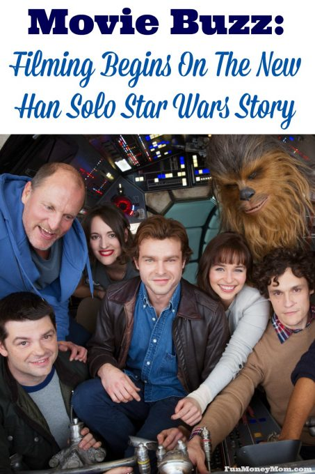 A new Han Solo Star Wars Story just started filming! Find out more about it and when you'll be able to see it in theaters!