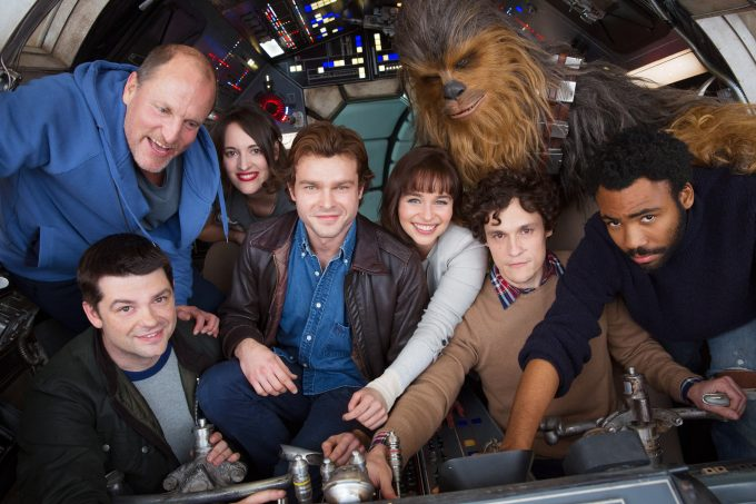The new Han Solo trilogy is set to premiere in May of 2018