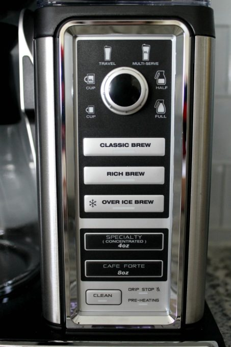 Use the specialty coffee button for your frappe recipe