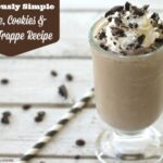 Deliciously Simple Coffee, Cookies & Cream Frappe Recipe