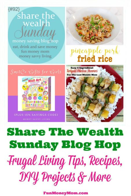 Join us for Share The Wealth Sunday Blog Hop #92!