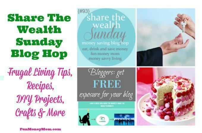 Share The Wealth Sunday Blog Hop 93
