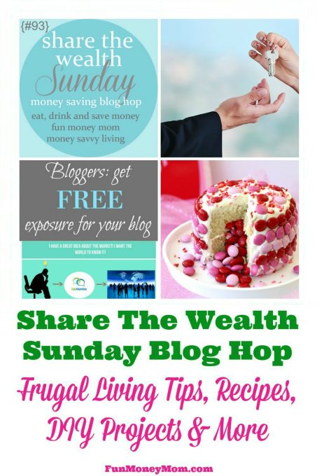 Join us for the Share The Wealth Sunday Blog Hop #93!