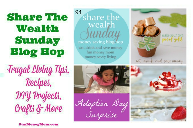 Share The Wealth Sunday Blog Hop 94