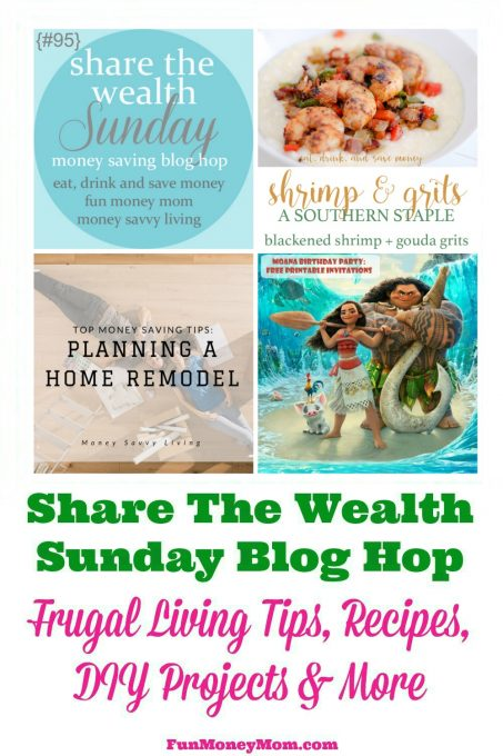 Join Share The Wealth Sunday #95 and link up your favorite posts!