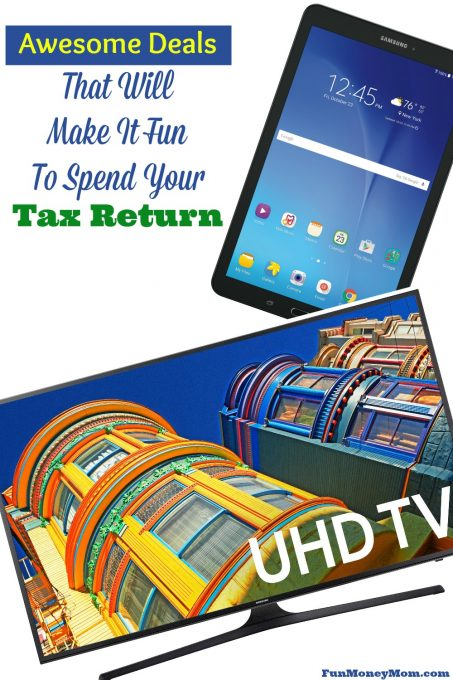 Are you getting money back from Uncle Sam this year? Check out these awesome deals and spend your tax return on something fun! #SamsungAtWalmart #IC #ad
