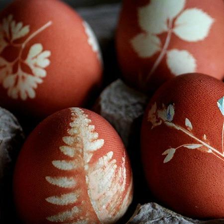Onion skin Easter egg ideas
