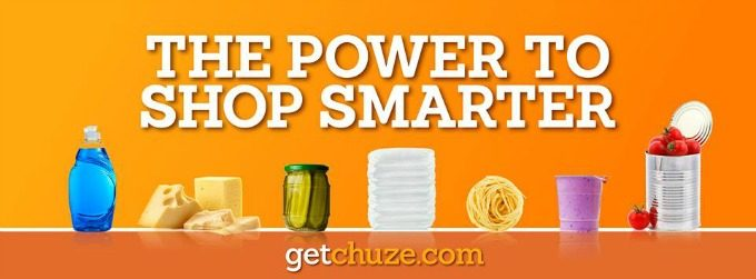 Get Chuze and shop smarter